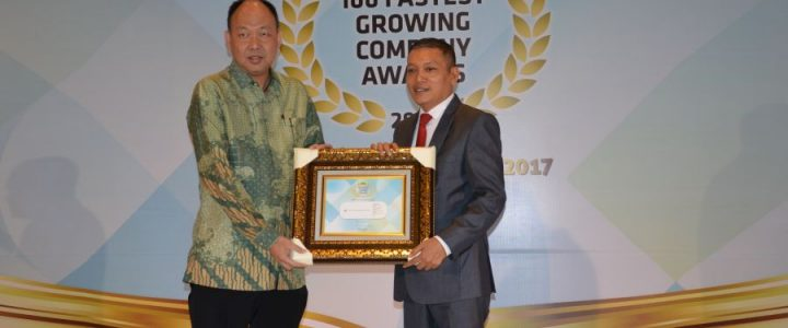 PT CIPUTRA DEVELOPMENT TBK RAIH PENGHARGAAN 100 FASTEST GROWING COMPANY